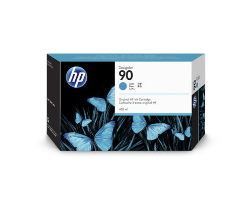 HP 90 Tintenpatrone cyan - 400 ml