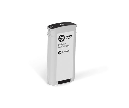 HP 727 DesignJet Tintenpatrone  Photo Schwarz - 130 ml