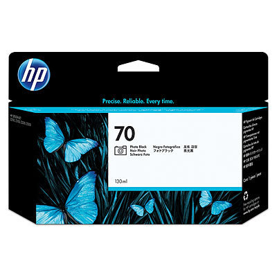 HP 70 Vivera Tintenpatrone Photo Schwarz - 130 ml