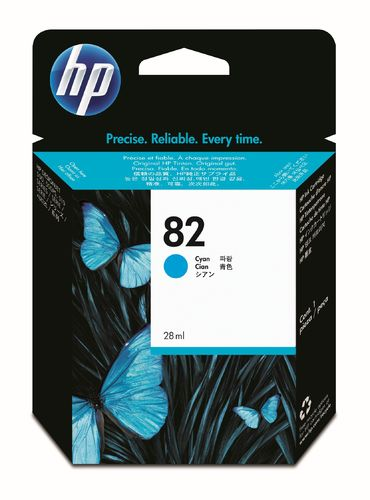 HP 82 Tintenpatrone cyan - 69 ml