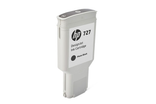 HP 727 DesignJet Tintenpatrone  Photo schwarz - 300 ml