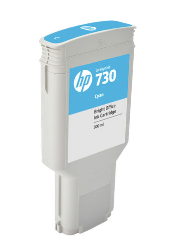 HP 730 300 ml Tinte Cyan - 300 ml