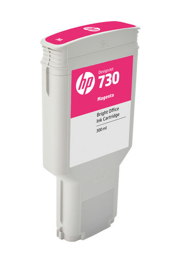 HP 730 300 ml Tinte Magenta - 300 ml
