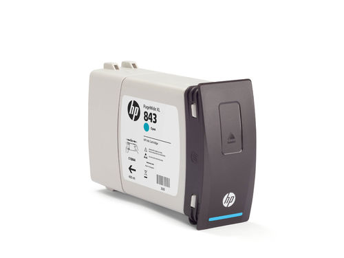 HP843C Zyan 400 ml Tintenpatrone - 400 ml
