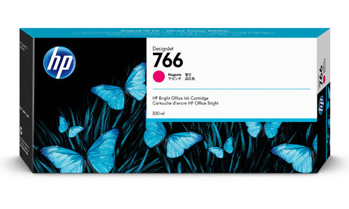 HP 766 Tinte Magenta - 300 ml